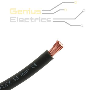 accu kabel 35mm2 zwart