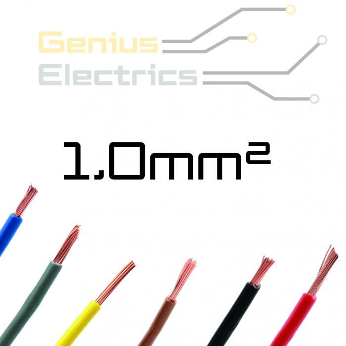 Enkel aderig kabel 1,0 mm²