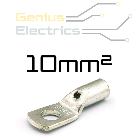 HD Buis kabelschoen voor 10mm² kabel