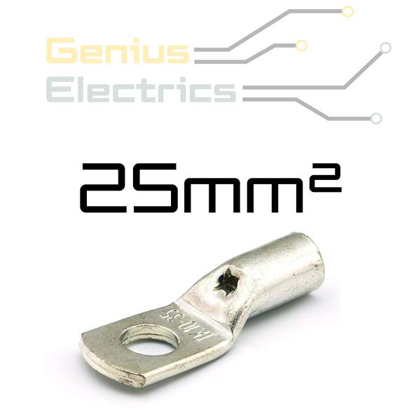 HD Buis kabelschoen voor 25mm² kabel