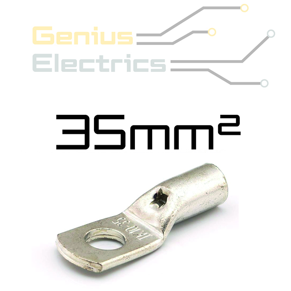 HD Buis kabelschoen voor 35mm² kabel