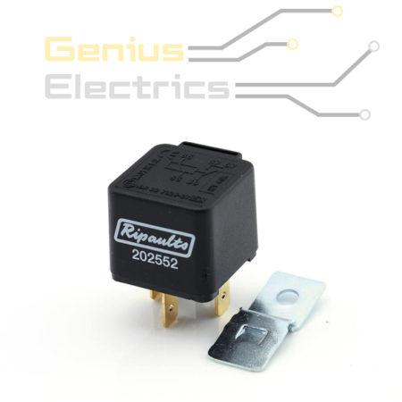 mini wissel relais 24v 10 20amp 5 polig ece r10 gekeurd genius electrics. Black Bedroom Furniture Sets. Home Design Ideas