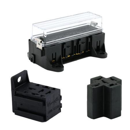 Mini relais houder