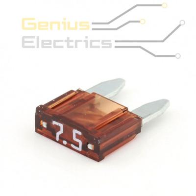 mini steekzekering 7.5A