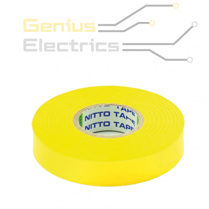 pvc isolatie tape geel