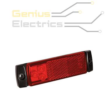 markeer verlichting contour verlichting rood met reflector