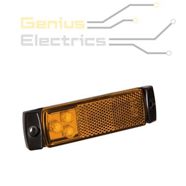 markeer verlichting contour verlichting oranje met reflector