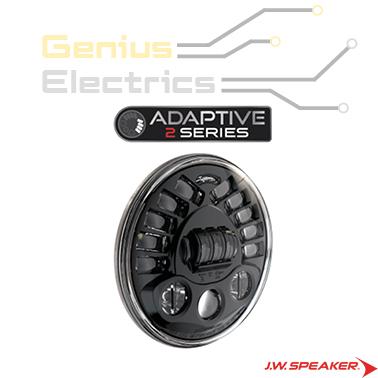 j.w. speaker 8790 motor led koplamp